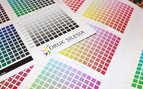Przykładowe palety barw