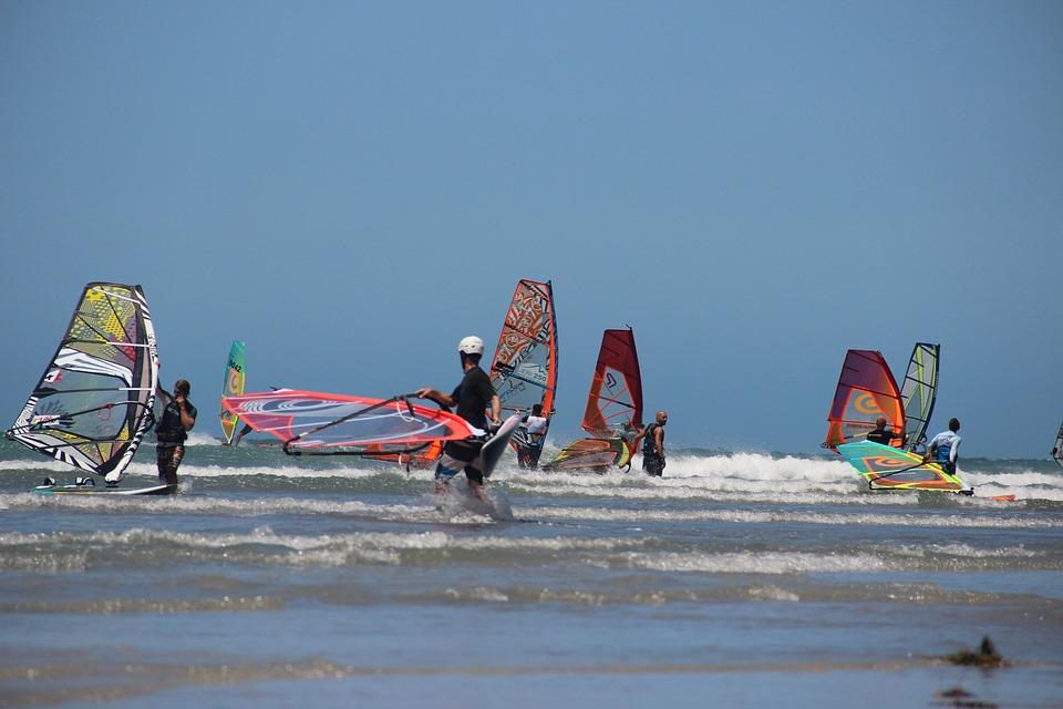 obóz windsurfingowy - zalety